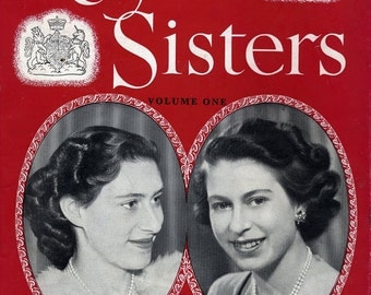 Royal Sisters, Numbers 1, 2, 3 & 5, Queen Elizabeth and Princess Margaret, British 1940s-50s