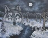 Wolf Pack Fine Art Print ...