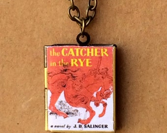 Catcher in the Rye Book Cover Locket