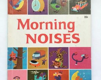 Vintage 1962 Wonder Book Morning Noises