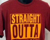 Straight Outta Cleveland Tee, Cavs colors