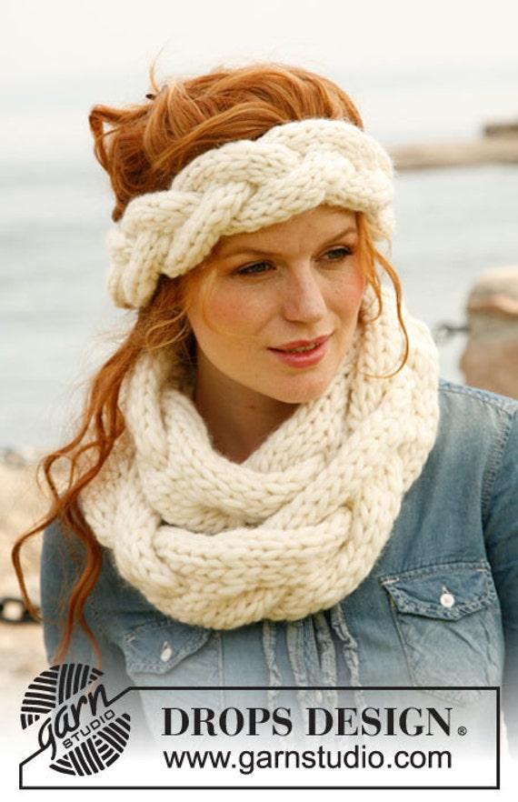 Вязание на спицах шарфов на голову