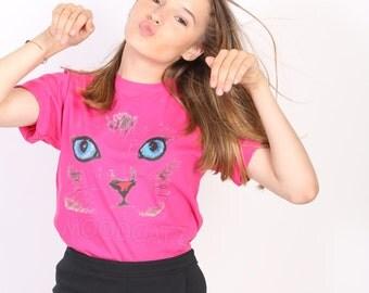 Cute cat tshirt cat eyes tshirt meow tshirt funny animal tshirt chic tshirt women tee shirt men tee shirt women tshirt men tshirt