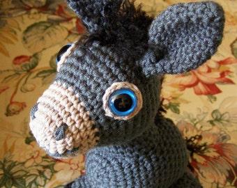 Little Donkey Amigurumi Pattern