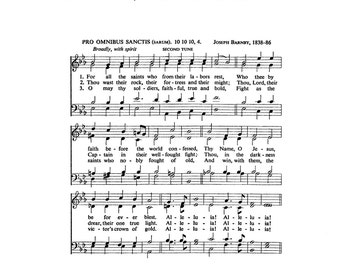 In The Garden Christian Hymn Digital Sheet Music By Thehymnshoppe