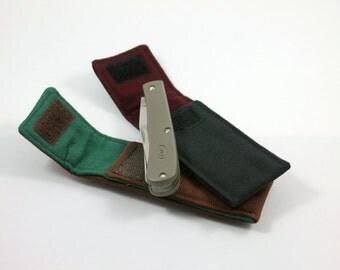 """Belt Pocket """"Trapper"""" for 4 to 4 1/2 in. Folding Knife"""
