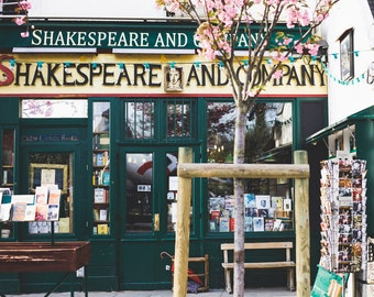 Shakespeare and Company Photo - Paris Photography, Paris Print, Paris Decor, Travel Photography, Home Decor