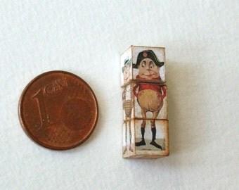 Miniature Funny Cubes, Cubes Amusants with Napoleon