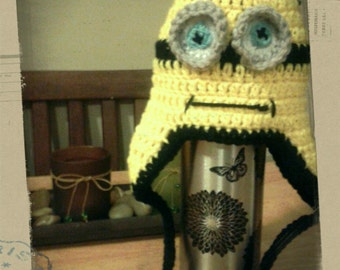 Infant - Adult Yellow Pencil Head Hat