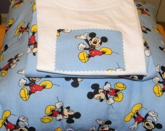 Mickey Mouse Pajamas & Pillow
