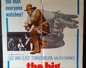 The Big Gundown - Original 1966 Western Movie Poster - Lee Van Cleef - Keep Your Eye On The Man Everyone Watches!