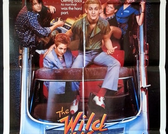 The Wild Life - Original 1984 Comedy Movie Poster - Chris Penn - After Fast Times - It Brings All Your Fantasies To Life!