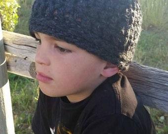 Easy Super Bulky Beanie Hat Pattern