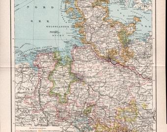 Map of kiel Etsy