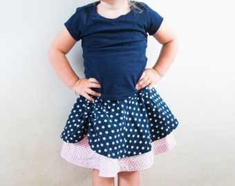 Dyyni Skirt Pattern 2y - 16y