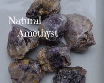 Natural AMETHYST Crystals for Purifying and Renewing the Body