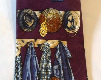 Vintage Rancher Cowboy tie by Protocol