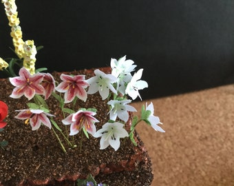 Miniature Handmade  Lillies