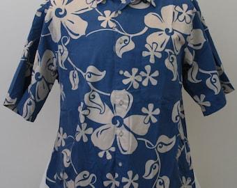 Alfred Shaheen Vintage Style Hawaiian Shirt by Reyn Spooner sz L/XL 48