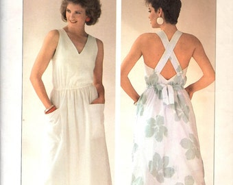 Simplicity 6933 Sun Dress Sewing Pattern Sizes 10 to 14