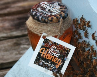 Bee Sweet HONEY, 100% natural, raw, unfiltered HONEY