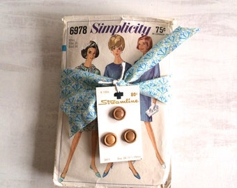 A Bundle of Retro Fashion Sewing Patterns From the 1960s