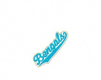 Bengals - Team Headband Slip On  - DIGITAL Embroidery DESIGN