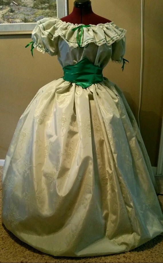 Civil War Ball Gowns For Reenactments 76