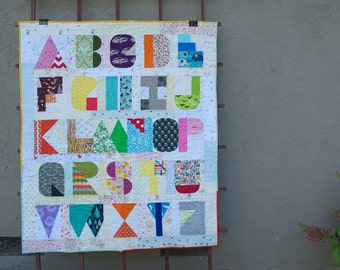I Spy The Alphabet PDF Modern Quilt Pattern