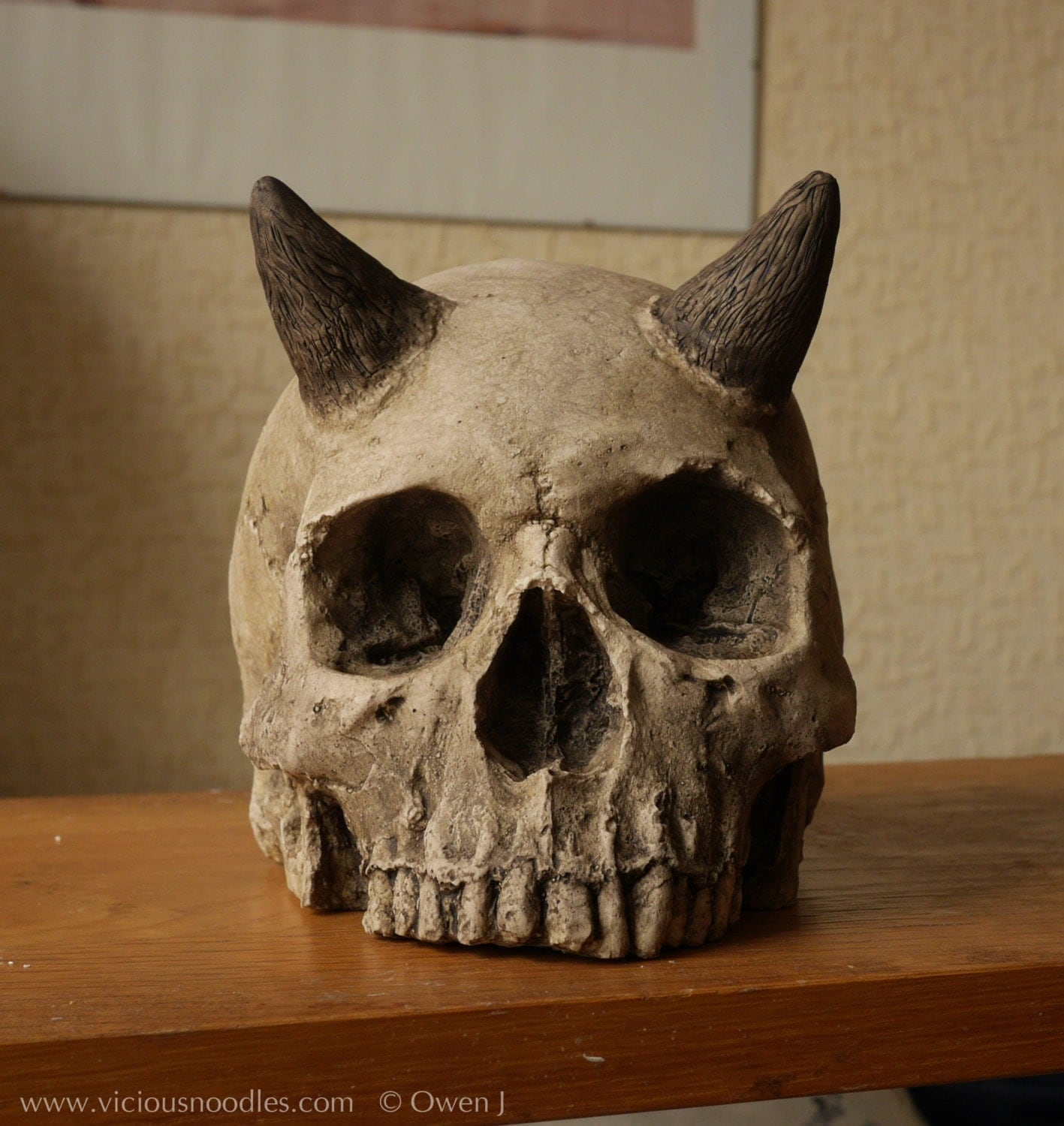 Human Skulls With Horns Found Pictures to Pin on Pinterest ... Human With Horns