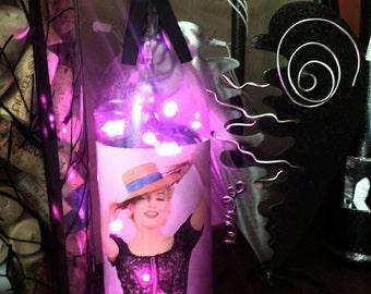 Marilyn Monroe Wine Bottle Light-LED Lights