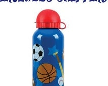 Stephen Joseph Toddler Sports Stainless Steel Water Bottle Personalized INCLUDES SHIPPING