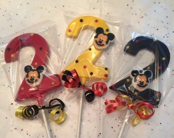 Mickey Mouse Themed #2 Lollipop