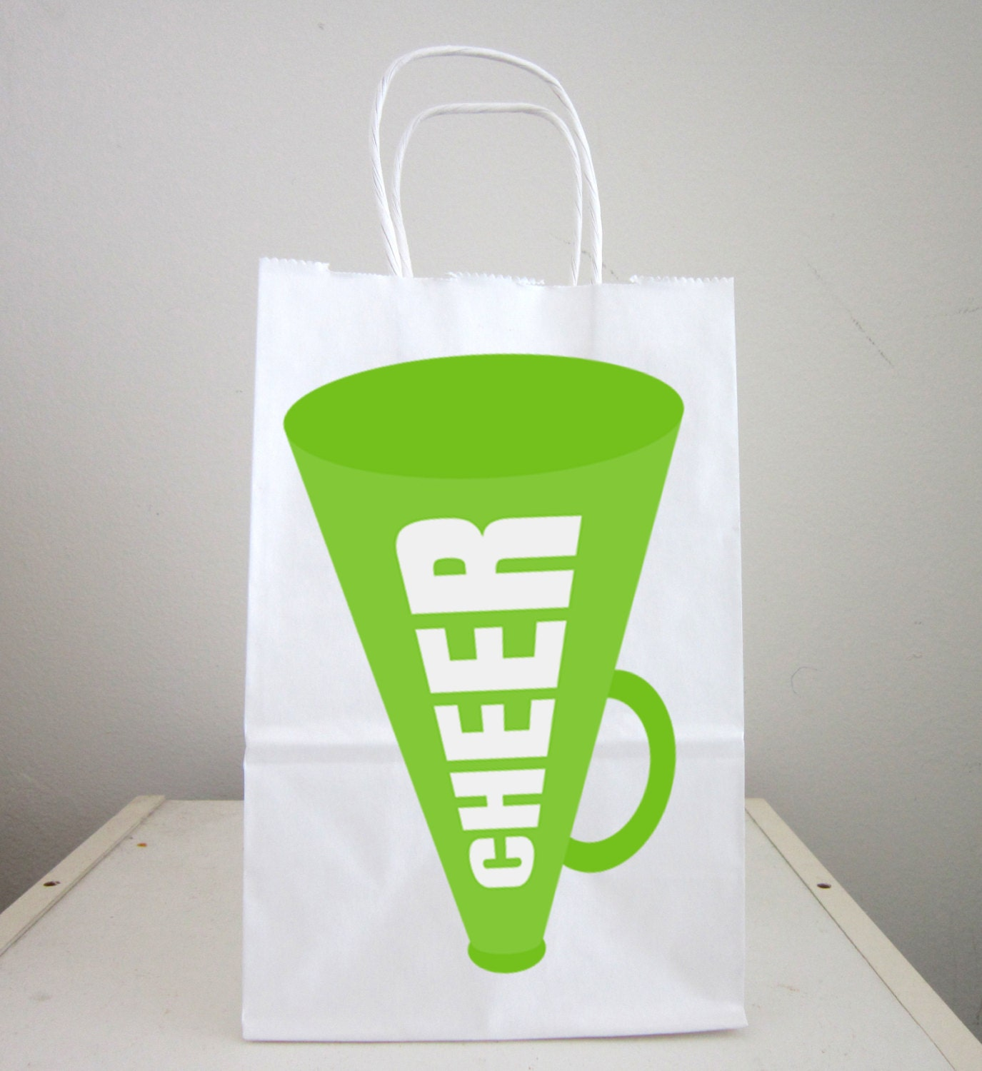 Cheerleader Megaphone Goody Bags Cheerleader Favor Bags