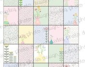 Floral and Paisley 2-in-1 Boxes/Stickers for EC Planners (PRINTABLE)