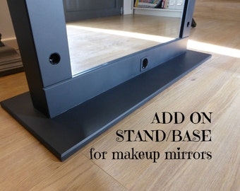 ADD ON STAND base for makeup mirror ! Please read the listing decription!