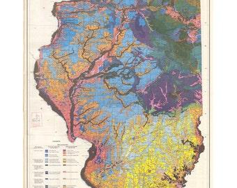 Soil Map of Illinois