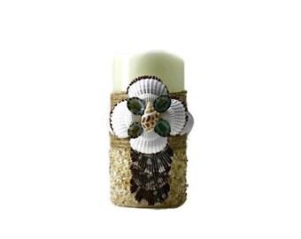 Flameless Seashell Candle