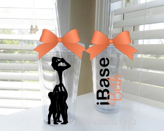 iBase Cheerleader tumbler - done in up to 3 colors