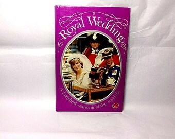 Royal Wedding, Vintage Ladybird Book, Prince Charles, Lady Diana, Children's Book, Ladybird Souvenir, British Royal Family, Princess Diana