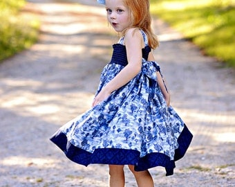 Violett Sweet  Dress sizes 6months to - 12 years pdf Pattern all sizes included