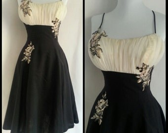 Vintage 1950s House of Nine Dress