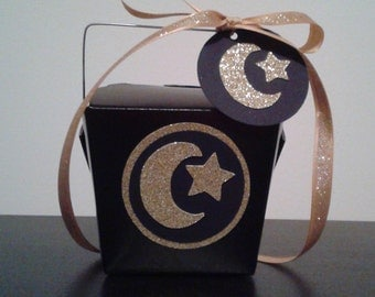10 - Eid Party Chinese Take-Out Favor Boxes - Eid or Hajj Party Favor