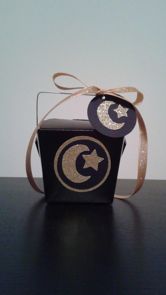 Party Favor Chinese Take Out Boxes : Eid party chinese take out favor boxes or hajj