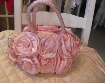 Pink bag shabby chic