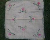 Vintage 1950s embroidered...