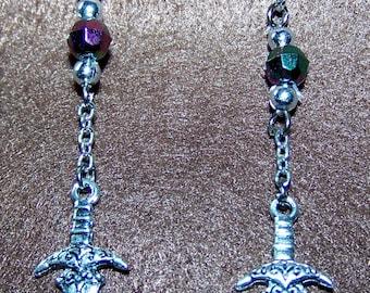 Athame Earrings