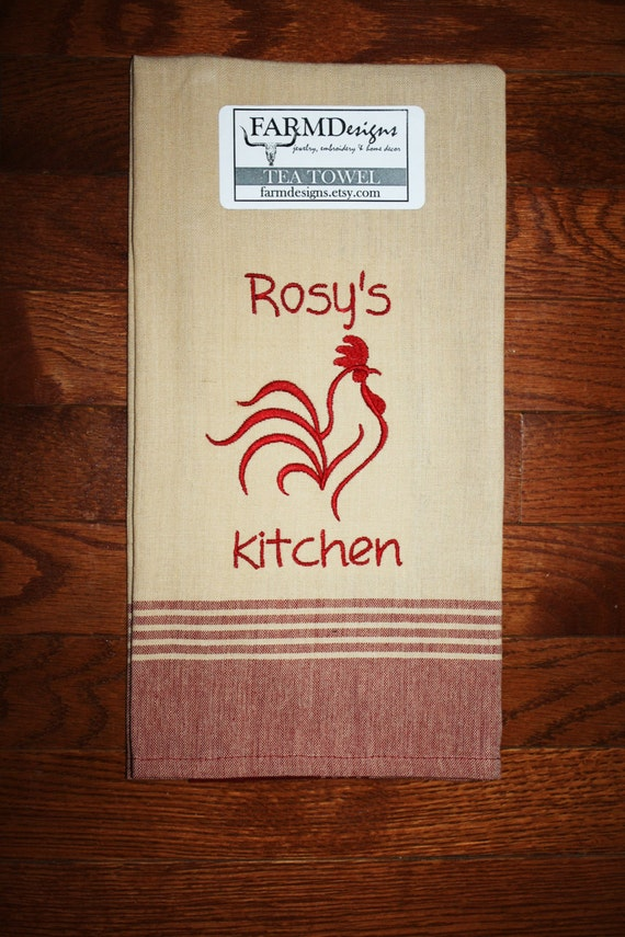 personalized kitchen accessories items similar to personalized rooster kitchen decor 1471
