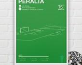 Oribe Peralta vs Brazil Giclee Print