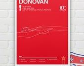 Landon Donovan vs Algeria Giclee Print